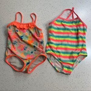 Other - Set of two 24M one piece swimsuits